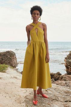 Rachel Comey Pre-Fall 2019 Fashion Show Rachel Comey Pre-Fall 2019 Collection – Vogue Look Fashion, Autumn Fashion, Fashion Design, Fashion Trends, Vogue Fashion, Rachel Comey, Fashion Dresses, Casual Dresses, Summer Dresses