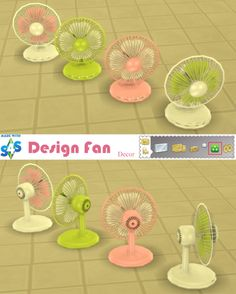 Sweetmint Sims 4: Design Fan • Sims 4 Downloads