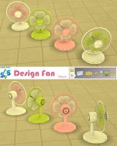 Sweetmint Sims 4: Design Fan • Sims 4 Downloads