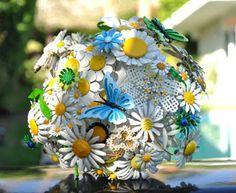 Bouquet en broche