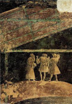 'Adorazione del bambino', Oil by Paolo Uccello (1397-1475, Italy)