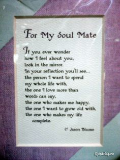 Is your soul mate an ex lover