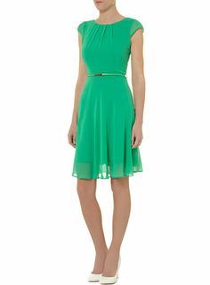 Billie and Blossom Green chiffon dress - Dorothy Perkins
