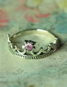 Tourmaline Tiara Ring from Victorian Trading Co.