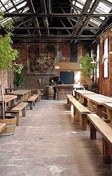 SO AMAZING. Going back here someday...Radegast Hall and Biergarten - Williamsburg, Brooklyn