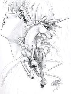 Unicorn by ~effenndee on deviantART