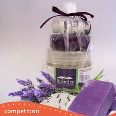 Stand a chance to win a relaxing Lavender Bath Pack from Lavender Hill, which includes Lavender Bath Salt, Essential Lavender Soap, Essential Lavender Oil.