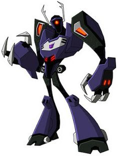 transformers animated shockwave | shockwave (animated)