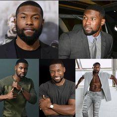 Fine Black Men, Gorgeous Black Men, Handsome Black Men, Black Boys, Fine Men, Beautiful Men, Black Man, Beautiful People, Dark Skin Men