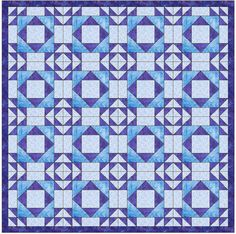 Double X 4 15 Inch Block Paper Template Quilting Block