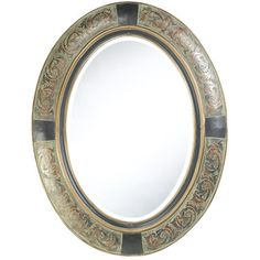 Cooper Classics Sawyer Wall Mirror in Aged Brown