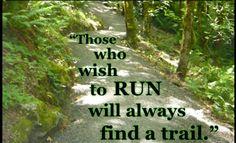 find a trail!