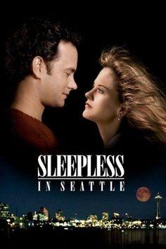 Sleepless In Seattle (1993) Hindi Movies, Famous Movies, Disney Pixar, New Year Eve Movie, Quarantine Movie, Tom Hanks Movies, Best Romantic Movies, Sleepless In Seattle, Nora Ephron