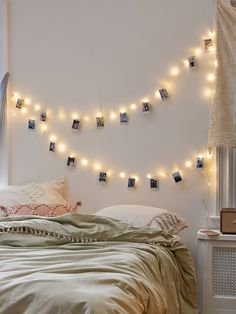 Shop Mod Clips String Lights at Urban Outfitters today. We carry all the latest styles, colors and brands for you to choose from right here. Room Decor For Teen Girls, Teen Girl Bedrooms, Teen Decor, Master Bedrooms, Cozy Bedroom, Modern Bedroom, Bedroom Decor, Bedroom Ideas, Contemporary Bedroom