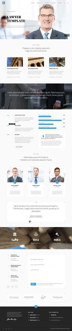 Rely - Lawyers WordPress Theme