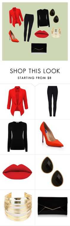 """I honestly don't know why I choose this background"" by rachellemh on Polyvore featuring LE3NO, Oasis, Fendi, Natasha Accessories, WithChic, Furla, women's clothing, women's fashion, women and female"