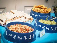Serve food in bowls