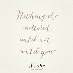 <3 | If I Stay