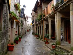 Combarro, NW Spain - a tucked-away treasure of winding paths and tiny houses.  www.ThinkBigAndLive.com