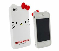 ◆◆◆ Hello Kitty Soft Case Cover + Free Earphones For iPhone 5 / 4 / 4S ◆◆◆ | eBay