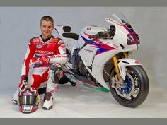 Jonathan Rea and the Honda World Superbike 2012 Livery