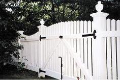 PVC Estate Gate Classic