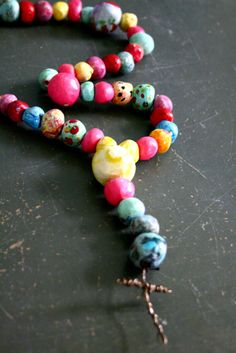 handmade prayer beads