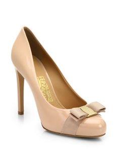 Saks Fifth Avenue Price Comparison-Pimpa Patent Leather Bow Pumps Saks  Fifth Avenue Price alerts