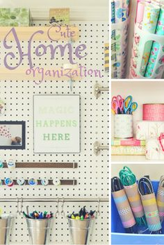 Cute Home Organization | Check out these 8 Brilliant Organizing Hacks You Can't Live Without