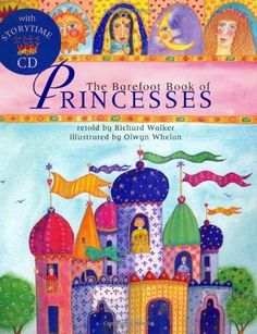 The Barefoot Book Of Princesses Paper Back with CD – Little Proud Kid Marketplace