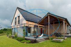 Pasivním domem roku 2017 se stala dřevostavba Dům na větrném kopci z Jílového u Prahy od ateliéru Archcon atelier.