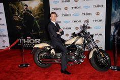 Tom Hiddleston at the LA premiere of Thor: The Dark World.