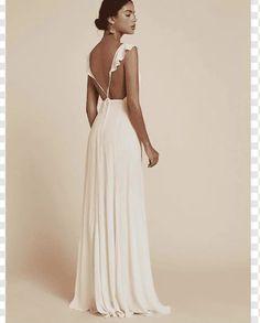 Civil Wedding Dresses, Backless, Fashion, Moda, Fashion Styles, Fashion Illustrations