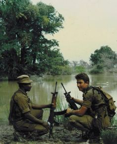 Cuene river 1987 Once Were Warriors, Brothers In Arms, Defence Force, Tactical Survival, All Nature, Redline, Military Life, Cold War, Armed Forces