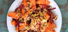 Perfect Weekday Lunch: Sweet Potato   Walnut Quinoa Bowl