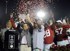 January 9, 2012, at the Superdome in New Orleans, Louisiana, Alabama beat LSU 21–0 to win their 14th national championship, marking the first shutout in a national championship game since the 1992 Orange Bowl and the first ever shutout in a BCS bowl game!