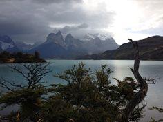 Lago Pehoé, Torres del Paine. Chile.