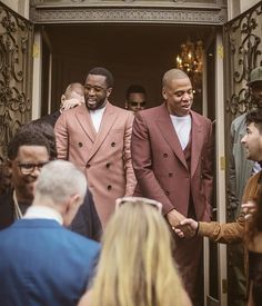 Sean Combs and Shawn Carter   ...Palette fit for emperors.... ~ June Ambrose February 2017