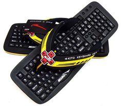 Computer Keyboard Slippers