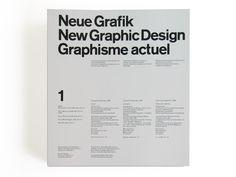 Neue Grafik/New Graphic Design/Graphisme actuel 1958–1965 | SPREAD
