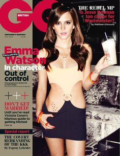 GQ is the greatest magazine around, the men's magazine with an IQ. Whether it's fashion, sport, health, humour, politics or music, GQ covers it all with intelligence and imagination. Emma Watson Sexy, Who Is Emma Watson, Emma Watson Sexiest, Ema Watson, Gq Magazine Covers, Sexy Girl, English Actresses, Julia Roberts, Famous Men