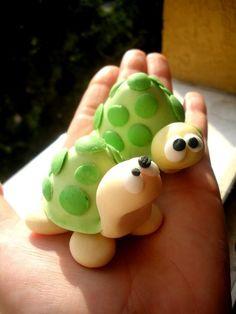 Dee Raa Arts crabs polymer clay fimo sculpey miniature crab sea ...