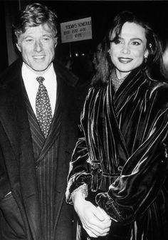 Entre 1990 y 1991, mantuvo una relación con Lena Olin. Lena Olin, Robert Redford, Star Wars, American Actors, Santa Monica, Cute Couples, Black And White, My Love, Movies