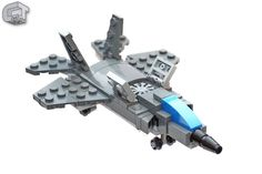 https://flic.kr/p/RRwd6c | Lockheed Martin F-35B - Vertical Landing | F-35B's thrust vectoring nozzle and its lift fan make a vertikal landing possible.  If you want to see more micro-MOC (with instructions), check out the following book, for which I contributed some models:    Tiny LEGO Wonders - www.nostarch.com/tinylegowonders    Or check out my rebrickable page: www.rebrickable.com/Clark_Taylor