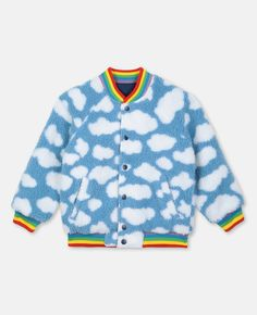Reversible Teddy Jacket | Unisex | Stella McCartney Kids