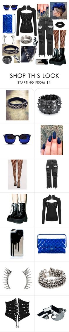 """""""Selah"""" by loveisablindwar on Polyvore featuring Bling Jewelry, Spitfire, Alexander Wang, Chanel and Latelita"""