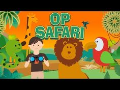 Kinderen Peuters en Kleuters leren Dieren - We gaan op Safari! - YouTube Jungle Safari, Animal Crafts, Body Painting, Tweety, Cool Photos, Wildlife, School, Animals, Youtube