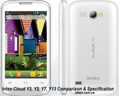Intex Cloud Y3 Price and Comparison of Y3, Y2, Y7, Y13 on http://latest.com.co/intex-cloud-y3-price-in-india.html