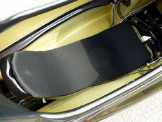 Ventisit Sport seatpad on WAW 291 velomobile