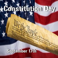 Learn about #Constitution Day and how you can get a free pocket Constitution with your order!